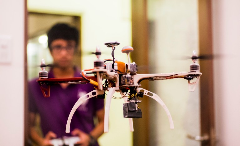 drone flying exercises