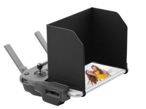 drone-zoom Sun Hood Shade Tablet Phone Sunshade Display Cover for DJI Mavic Pro Air Mavic 2 Zoom Spark Mini Phantom 4 3 Drone Accessory