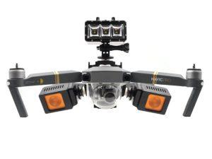 drone-zoom Mavic Pro Drone Gimbal Camera Mount Holder Multifunction Fixed Bracket LED Light Buckle Holder