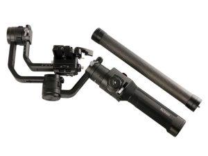 drone-zoom - Aluminum alloy Extend Rod Pole Stick for Dji Ronin S Osmo Vimble 2 Crane Smooth 4 Feiyu G6 G5 AK4000 A2000 Telescopic