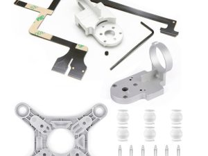 drone-zoom Repair Parts for DJI Phantom 3 Advanced Drone Yaw Arm Roll Bracket Flat Ribbon Flex Cable Gimbal Mount Motor Camera Accessory