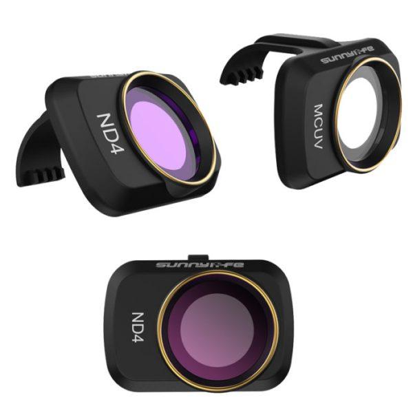 drone-zoom-DJI Mavic Mini Camera Lens ND/PL Polarizing Filter Kit MCUV ND4 ND8 ND16 ND32 CPL
