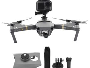 drone-zoom 1Set Camera Fill Light Holder Mount Mounting Bracket Expansion Kit with Screw Base for DJI MAVIC 2/MAVIC Pro Drone Accessories