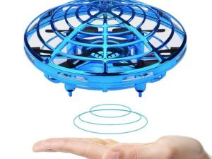 drone-zom - Mini Flying Helicopter UFO RC Drone Hand Sensing Aircraft Electronic Model Quadcopter flayaball Toys Small drohne For Children