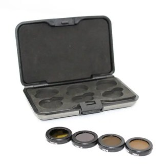 Filters for Mavic 2 Zoom ND4 ND8 ND16 ND16 ND32 4 Pack with Case Filters out of Case