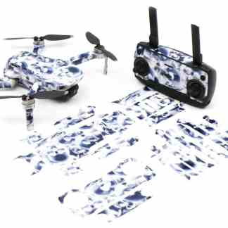 Crystal Skull Drone Skin Wrap Stickers for DJI Mavic Mini Front View with Print Out