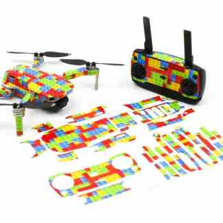 Lego Drone Skin Wrap Stickers for DJI Mavic Mini Front View with Print Out