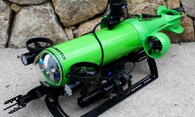 Endura is a mini Inspection class ROV