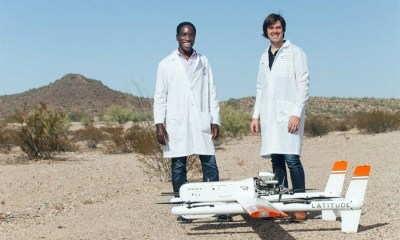 Drone Transport of Chemistry and Hematology Samples Over Long Distances
