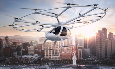 "18 quiet rotors, simple operation using a single joystick and the highest degree of reliability using superior design: The Volocopter 2X turns the vision of ""flight for all"" into reality. No combustion engine, no noise, no complex mechanics. Just step on board, fly off and arrive in comfort. Welcome to today's innovative mobility concept."