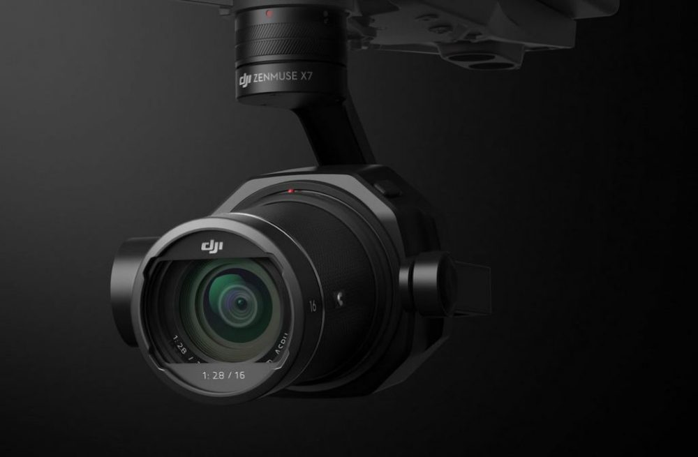 Zenmuse X7, The World's First Super 35 Digital Film Camera Optimized for Professional Aerial Cinematography