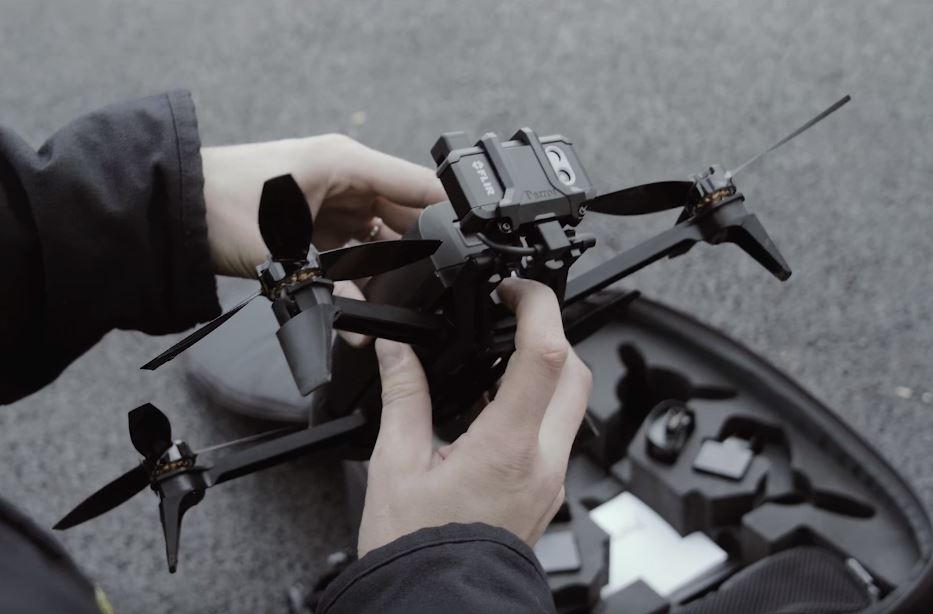 Parrot Bebop-Pro Thermal - The All-in-One Drone Solution for Thermal Imaging