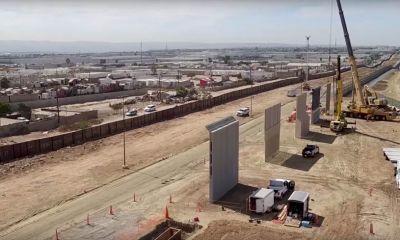 Trump Border Wall Drone Footage