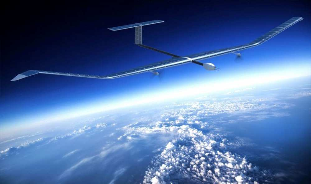 Airbus Zephyr HAPS UAS