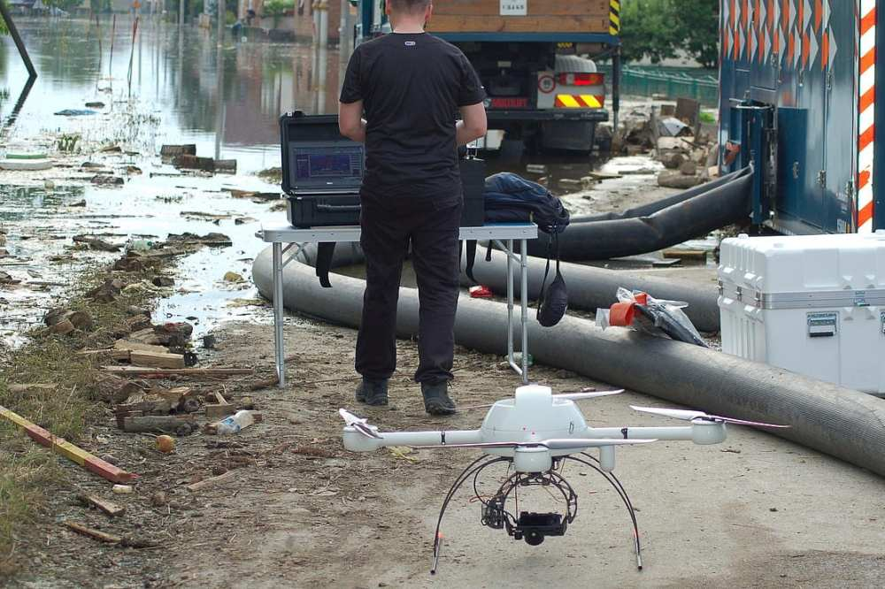Tiramisu microdrone Preparing for Rescue Mission