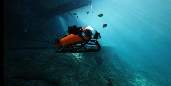 Integra ROV/AUV Hybrid Underwater Drone