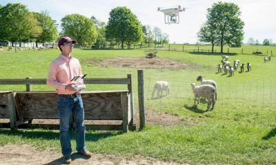 Virginia Tech Drone Farming