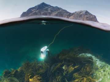 Blueye Pioneer Underwater Drone