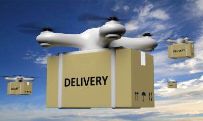 Delviery Drone Artist Impression