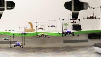 Human Media Lab - LEGO Flying Bricks