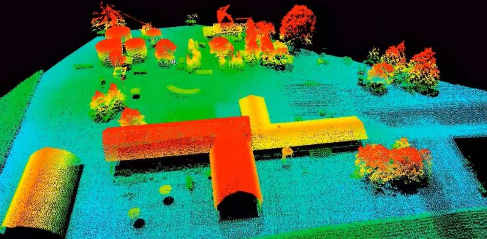 Microdrones LiDar Map