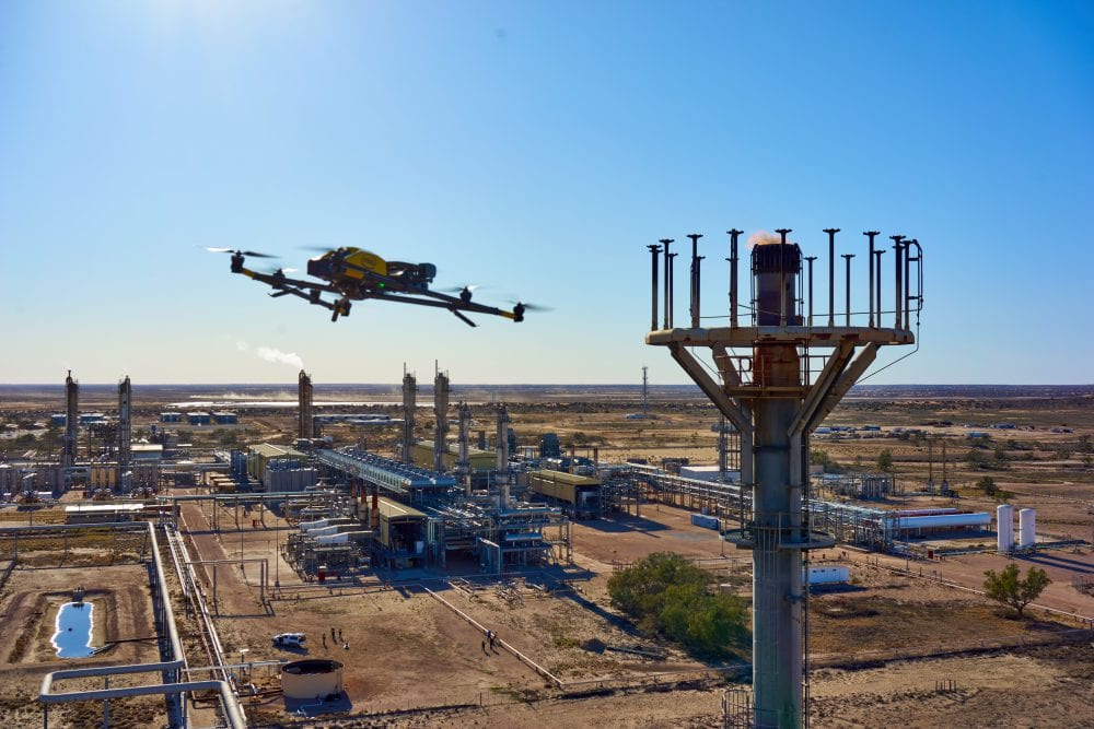 Intel Falcon 8+ Drone helps reshape the way Australian resource company can manage oil and gas sites