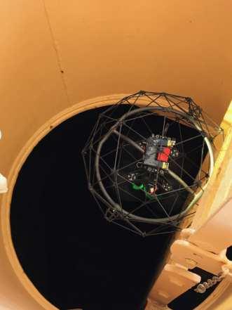 Flyability Elios Jack Up Rigs Inspection