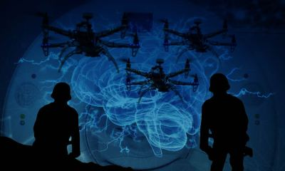 DARPA drone mind control