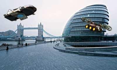 Drones in the Future, London