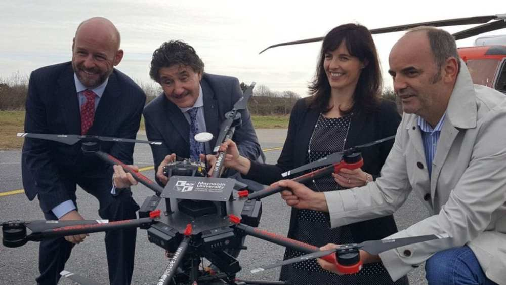 Partners celebrate the launch of the U-Flyte Research Project | U-Flyte/Twitter