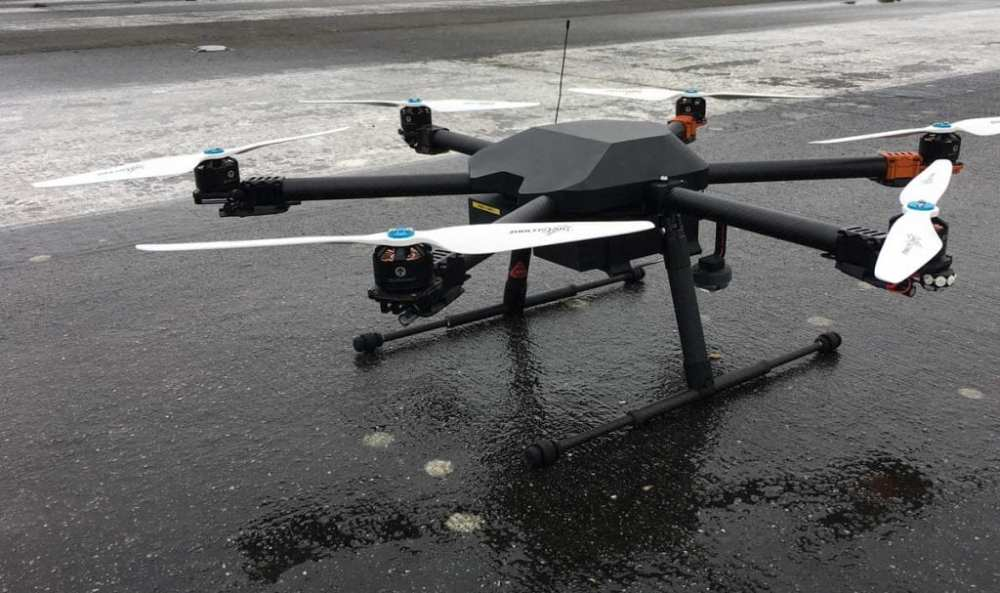 One of Uavia's drones