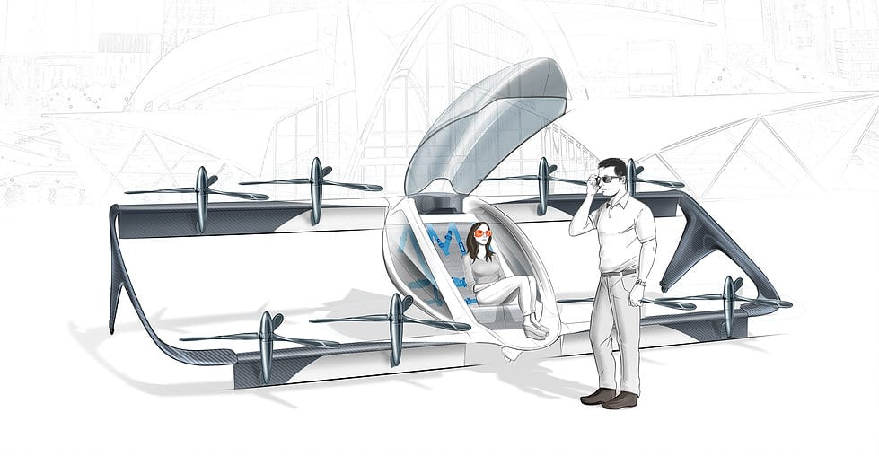 Artist's impression of the Vertiia | AMSL Aero