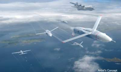 Artist's Impression of the Gremlin UAS | DARPA