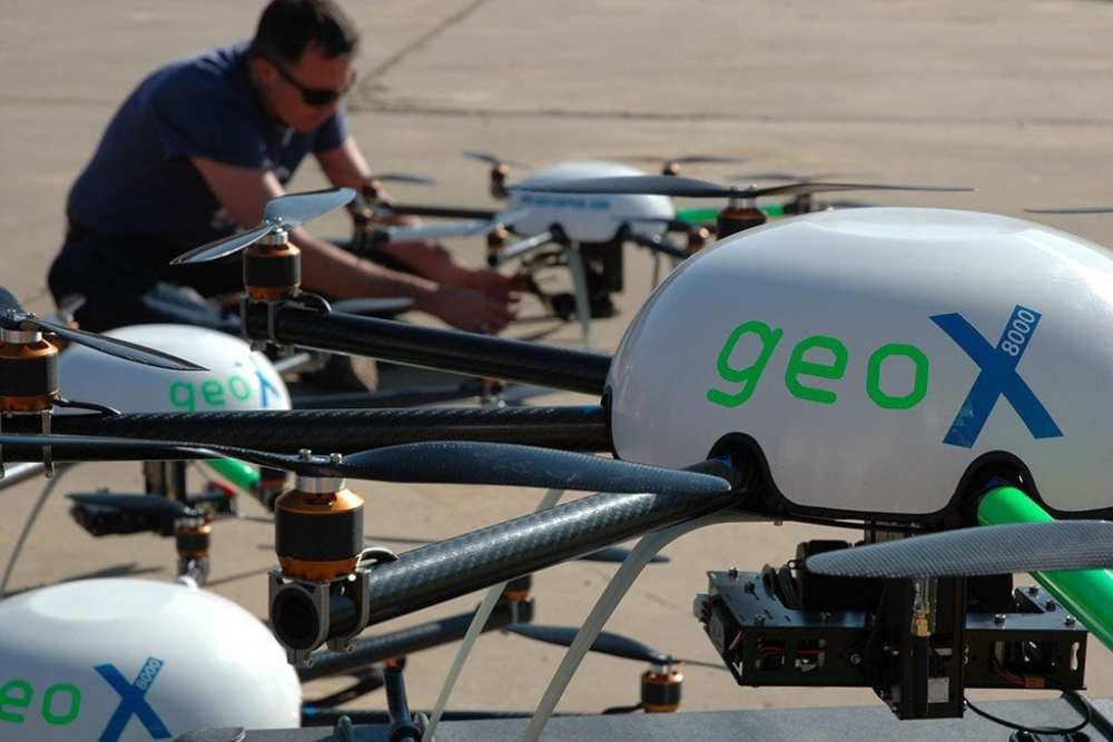 Octocopter system GeoX-8000