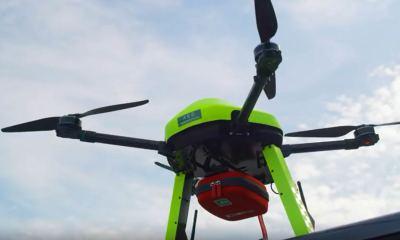 Ericsson Defibrillator Drone
