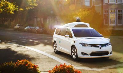 Waymo's fully self-driving Chrysler Pacifica Hybrid minivan on public roads   Waymo