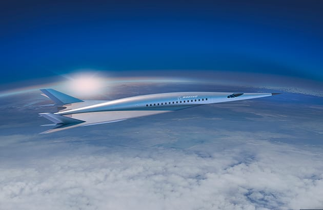Boeing hypersonic concept vehicle