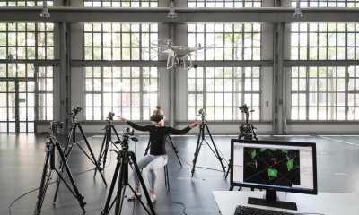 Jenifer Miehlbradt demonstrates the torso strategy developed at EPFL   Supplied