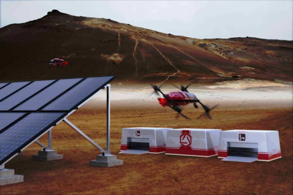 A solar drone developed by Archon