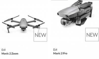 DJI Mavic Pro 2 leaked online