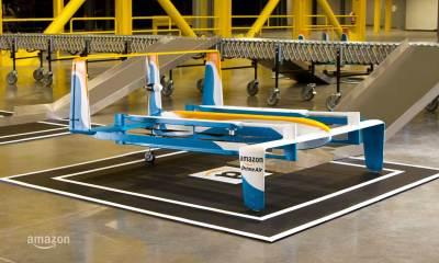 The Amazon Hybrid Delivery Drone | Amazon