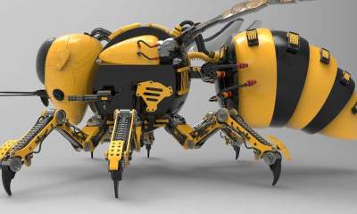 Russian Robot Bee