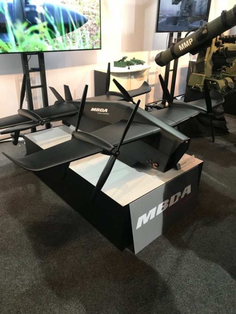 MBDA Spectre UAV with tilt rotors shows how rapidly the military drone market is evolving Nicholas Drummond (@nicholadrummond) September 19, 2018. #DVD2018