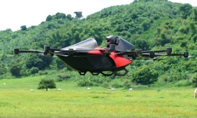 Koncepto Millenya passenger drone