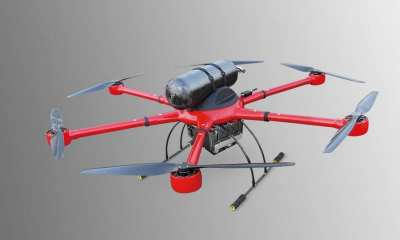 MMC's HyDrone 1550 multicopter equipped with 1800W H1-Fuel Cell MC