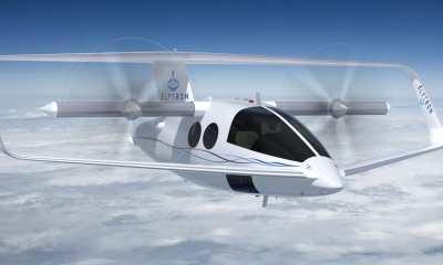 Elytron joined-wing tilt-wing UAM concept