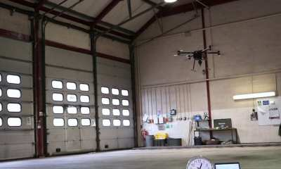 Hydrogen Drone Flies for 70 Minutes Carrying 5kg