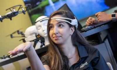 Brain-Controlled Drones
