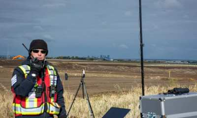 Chris Healy, owner of IN-FLIGHT Data, used an eBee Plus to map a new graveyard for the City of Calgary, earning himself not one, not two but three @GWR (Guinness World Records) in the process!
