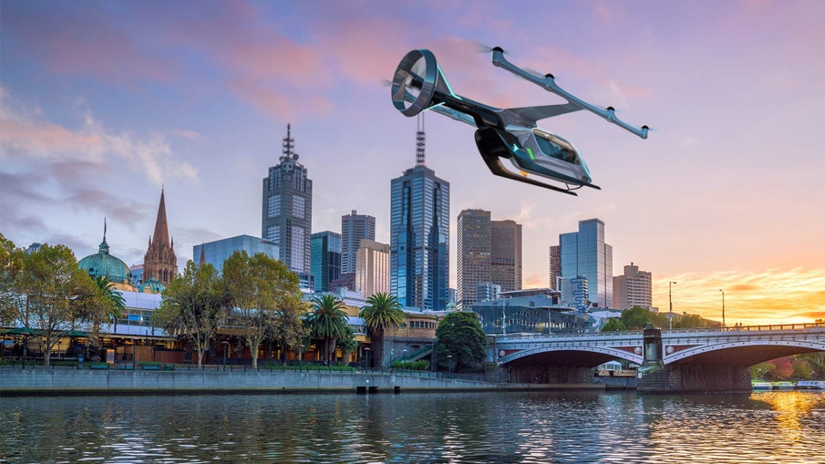Uber to pilot its Uber Air service in Melbourne